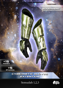 Cybernetic Gloves Extention