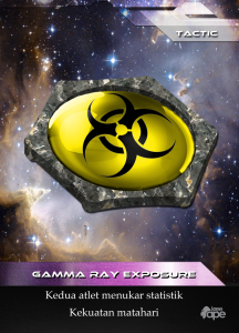 Gamma Ray Exposure