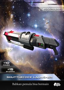 Shuttlecock Launcher