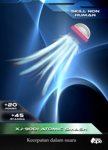XXJ-9001 Atomic Smash